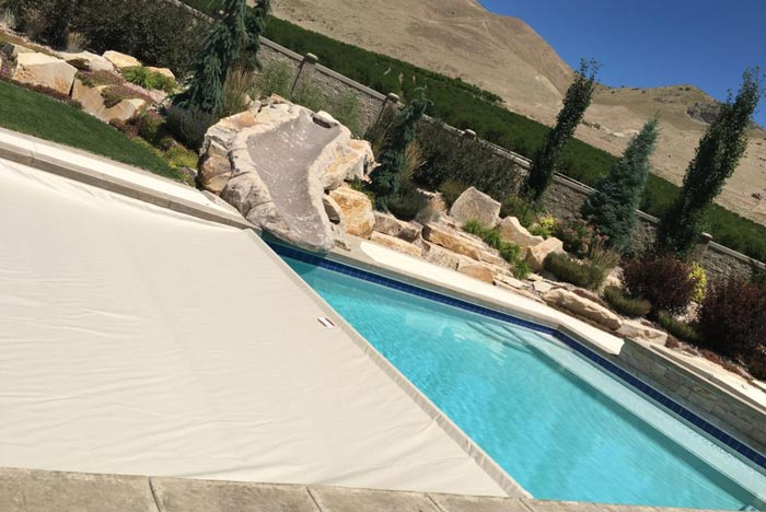 Automatic swimming pool covers in salt lake city utah covers - Electric swimming pool covers cost ...